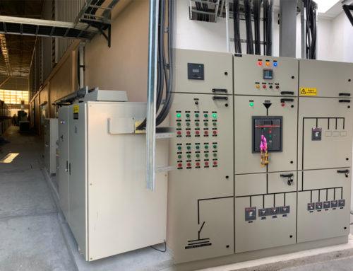 งานติดตั้งระบบไฟฟ้าโรงงาน และงานสถาปัตย์ – บริษัท James precision Thailand สมุทรปราการ