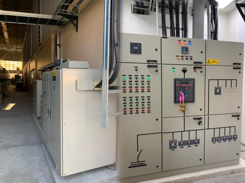 งานติดตั้งระบบไฟฟ้าโรงงาน - James precision Thailand 8