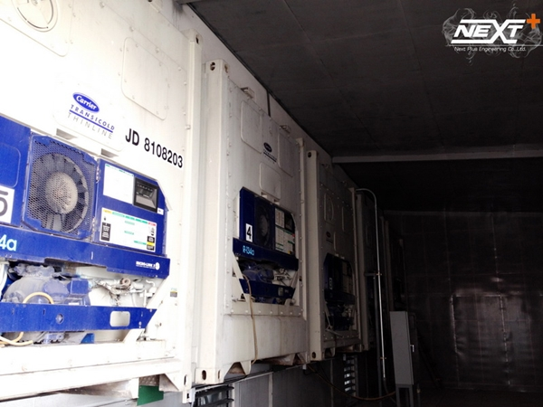สร้างห้องเก็บเสียงเครื่องจักร - บริษัท อาร์แอนด์บี ฟู้ดซัพพลาย จำกัด