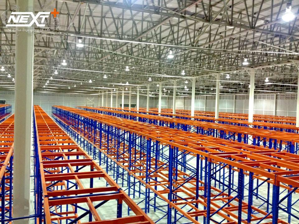 โครงการก่อสร้าง คลังสินค้า 5,000 ตร.ม. - โครงการ A บริษัท แคล-คอมพ์ อีเล็คโทรนิคส์ (ประเทศไทย) จำกัด