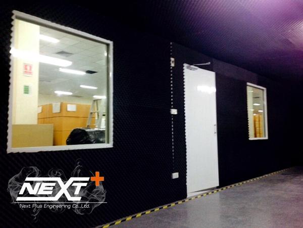 โครงการก่อสร้าง ห้องทดสอบเสียง บริษัท แคล-คอมพ์ อีเล็คโทรนิคส์ เพชรบุรี 2