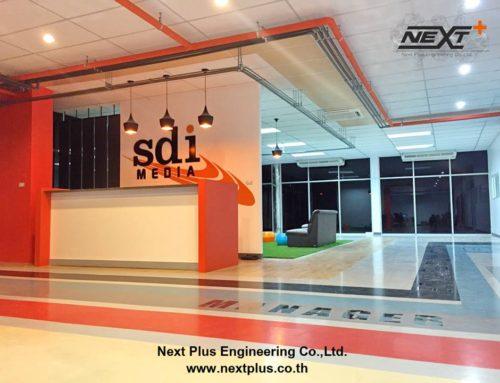 งานก่อสร้างสตูดิโอ บริษัท Sdi Media Thailand