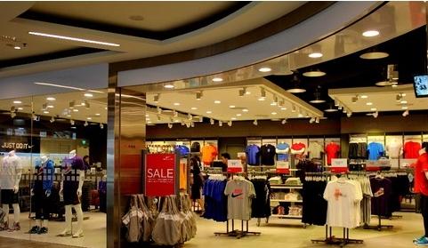 ร้าน NIKE SHOP เซ็นทรัล พลาซ่า สีลม