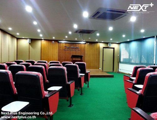 งานรีโนเวทห้องประชุม บริษัท Thai Hitachi Enamel Wire Co.,Ltd.