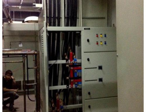 งานติดตั้งระบบไฟฟ้า และสื่อสารส่วนกลาง – เซ็นทรัล สีลม คอมเพล็กซ์ กรุงเทพ