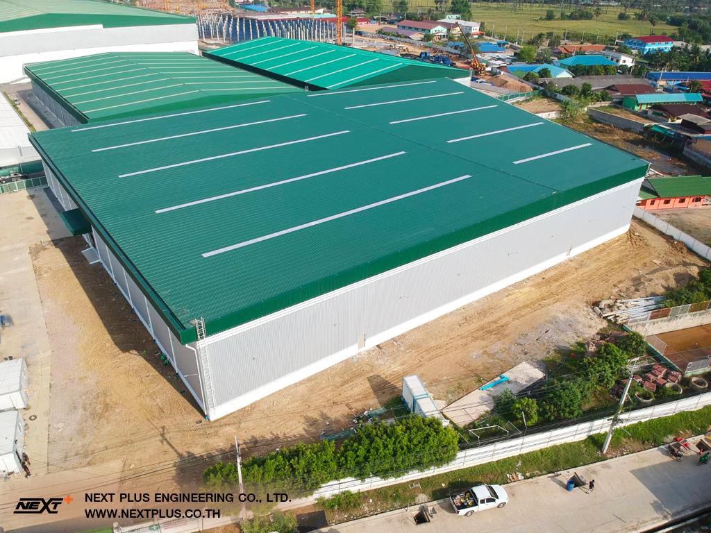 รับเหมาสร้างโรงงาน คลังสินค้า Cal-Comp Electronics Thailand