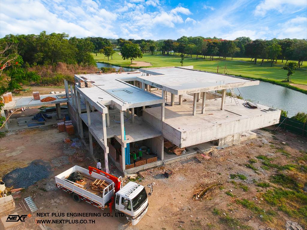 โครงการก่อสร้าง บ้านพักตากอากาศ Sunny Ville Royal Golf Club ลาดกระบัง