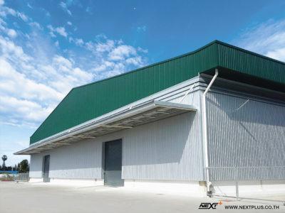 โครงการ ก่อสร้างคลังสินค้า (โครงการ B ขนาด 5,000 ตร.ม.) บริษัท แคลคอมพ์ เพชรบุรี