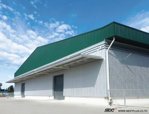 สร้างคลังสินค้า 7,600 ตร.ม. – บริษัท แคล-คอมพ์ อีเล็คโทรนิคส์ (ประเทศไทย) จำกัด (มหาชน) เพชรบุรี