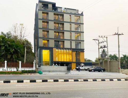 โครงการก่อสร้าง โรงแรมเอ็มทูโฮเทลวอเตอร์ไซด์ พะเยา