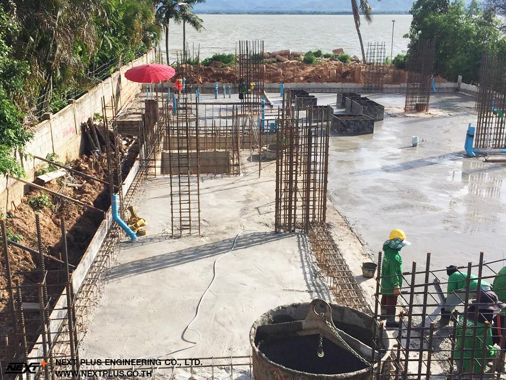 โครงการก่อสร้าง โรงแรมเอ็มทูโฮเทลวอเตอร์ไซด์ อ. เมือง จ. พะเยา