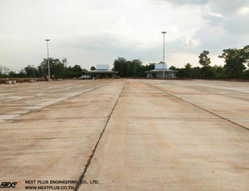 โครงการ Truck Rest Area (Parking) ที่พักกรมทางหลวง นครพนม