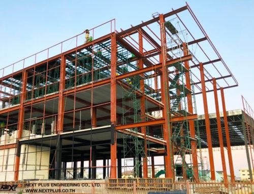 โครงการก่อสร้างคลังสินค้าและออฟฟิศ ASIA TRANS ACCESS