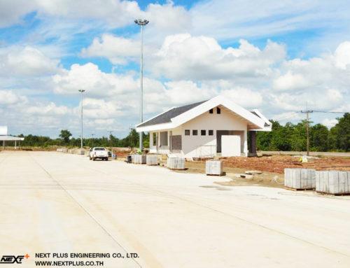 โครงการ Truck Rest Area (Building) ที่พักกรมทางหลวง นครพนม