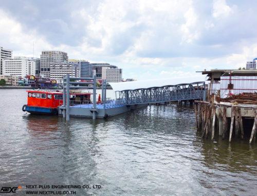 โครงการก่อสร้างท่าเทียบเรือท่าช้าง