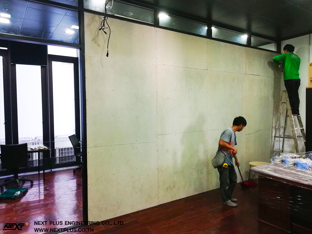 Renovate-the-soundproof-room-the-executive-board-room-Chulalongkorn-Next-Plus-Engineering-1