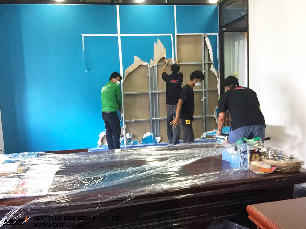 Renovate-the-soundproof-room-the-executive-board-room-Chulalongkorn-Next-Plus-Engineering-3