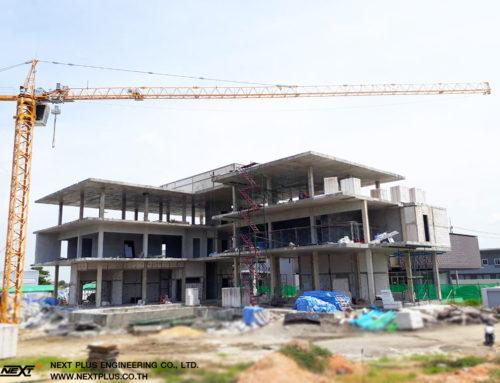 โครงการบ้านพักอาศัย 3 ชั้น