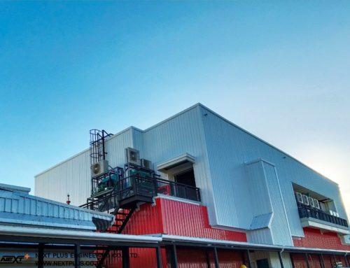 โครงการปรับปรุงอาคารโรงงาน ส.ขอนแก่น (บางพลี)