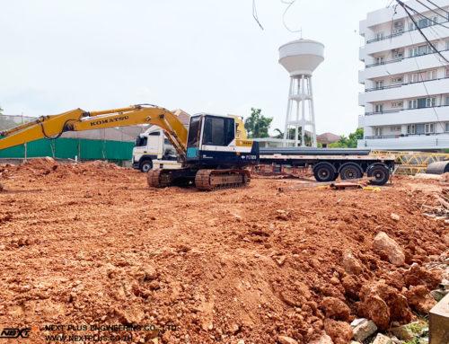 โครงการก่อสร้างอาคารพักเจ้าหน้าที่ 96 ยูนิต อาคาร คสล. 8 ชั้น โรงพยาบาลขอนแก่น
